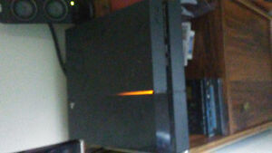 1TB Playstation 4 with games