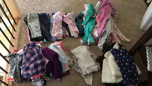3-6 and 6-12 month girl clothes