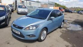 2009 Ford Focus Hatch 5Dr 1.6 100 Titanium Petrol blue Manual