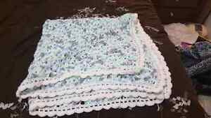 New crocheted baby blankets