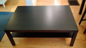 Ikea Coffee Table - LACK model (black)