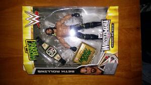 WWE ELITE SETH ROLLINS WRESTLEMANIA 31 MONEY IN THE BANK EXCLUSI