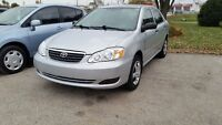 2006 Toyota Corolla Sedan CERTIFIED AND ETESTED