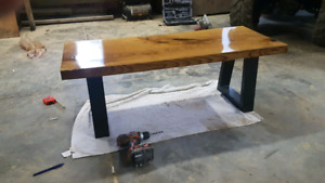 Solid ASH coffee table