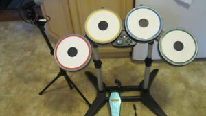 Rock Band The Beatles PS3 Edition - Drum w Dongle/ Microphone wi