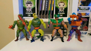 Wide variety of heman masters of the universe toys