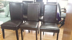 Dining chairs - 6 pcs set