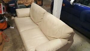 Leather Love Seat Sofa