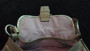 Summery hobo style authentic Coach silvery soft purse West Island Greater Montréal image 4