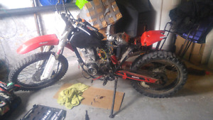 Wanted a knowledgeable mechanic who know his way around dirtbike