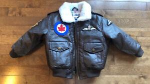 Kid Bomber jacket/Blouson d'aviateur enfant 3T