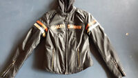 Harley Davidson Women's Miss Enthusiast Leather 3-in-1 Jacket!