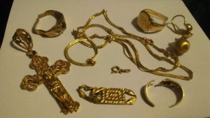 Buying all unwanted and scrap gold