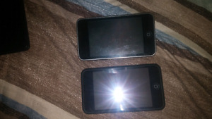 2 iPod touches for sale 8gig