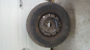winter tires off of 06 grand caravan