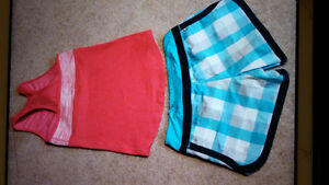 Lululemon Shorts & Tanks (Size 6)