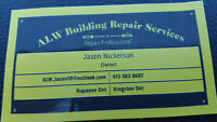 Roofing by ALW building repair services