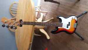 Brand new beautifull bass guitar and brand new highend gig bag
