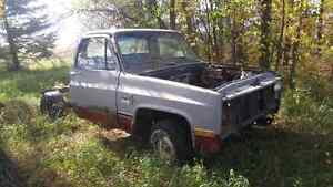 1982 Chevy truck cab