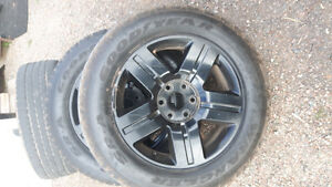 Gmc chev rims tires