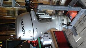 Moteur Honda 9,9 (4 temps) à démarreur électrique