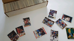 NHL and NBA cards