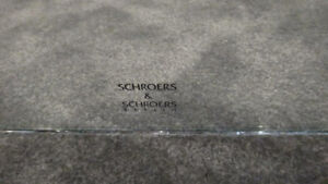 Schroers and Schroers Glass panels used in Audio stand