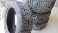 205/55/16 Michelin X-Ice3  Winter Tires