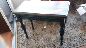 Fold-out antique table