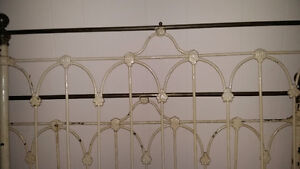 antique cast iron and brass dbl.bed St. John's Newfoundland image 1