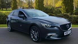 2017 Mazda 6 2.2d Sport Nav 5dr Manual Diesel Estate