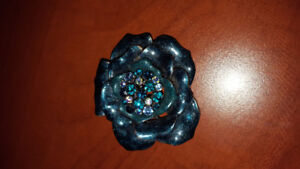 Dreamy Turquoise Brooch