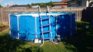 "15' x 48 "" above-ground pool Cambridge Kitchener Area image 1"