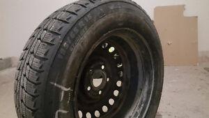 Pneus hiver Michelin x-ice 195/65 r15 avec rims X 4