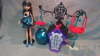Girls toys - Monster High, Lalaloopsy,Calico