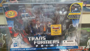 Transformers Prime first editon 2 pack DVD set MISB