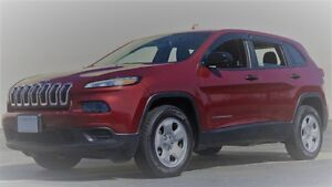 2014-17 Jeep Cherokee Sport or Trailhawk Auto Vent Shades