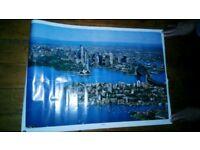 Sydney Skyline 1988 Poster In Original Packaging
