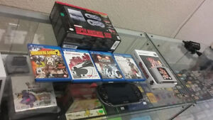 PS VITA LOT, CONKERS BAD FUR DAY AND A SNES CLASSIC FOR SALE!!