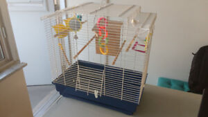 Bird Cage, Medium Size,Toys and Accessories, Good Condition!