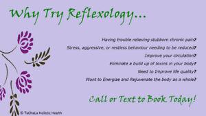 Reflexology - $ 50.00 Treatment!