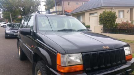 1997 Jeep Grand Cherokee Wagon Limited Edition