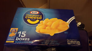 15 UNOPENED BOXES OF MAC & CHEESE