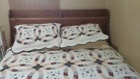 Ikea Bed Frame Queen Size good condition