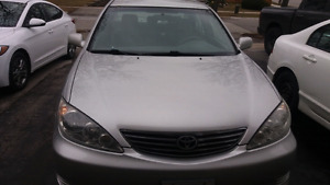 Toyota camry 2005 LE