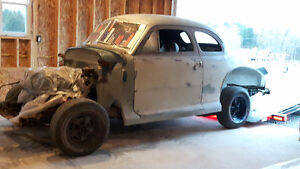 41 Chev Coupe Project  Vehicle  up for sale .