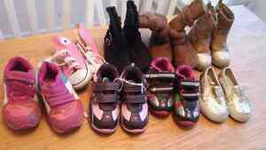 Toddler girls size 6 shoes and boots