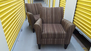 Pair of Designer Club Chairs