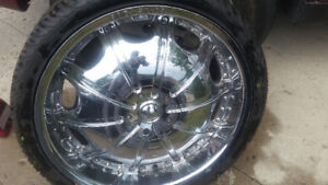 20 inch Rims with Tires $500