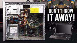 Desktop Or Laptops That Are Broken Or Working